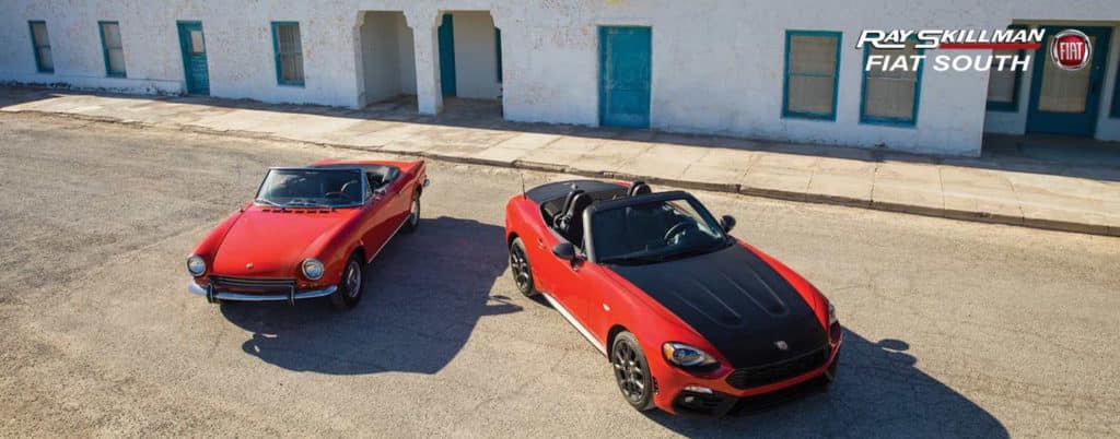 FIAT 124 Spider Greenwood IN