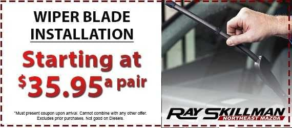 Wiper Blade Installation