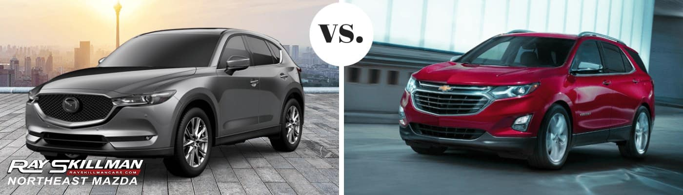 Mazda Cx-9 vs Chevy Equinox