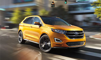 2016 Ford Edge Front Page