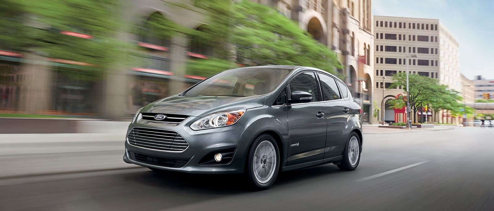 2016 Ford C-MAX Hybrid on the road
