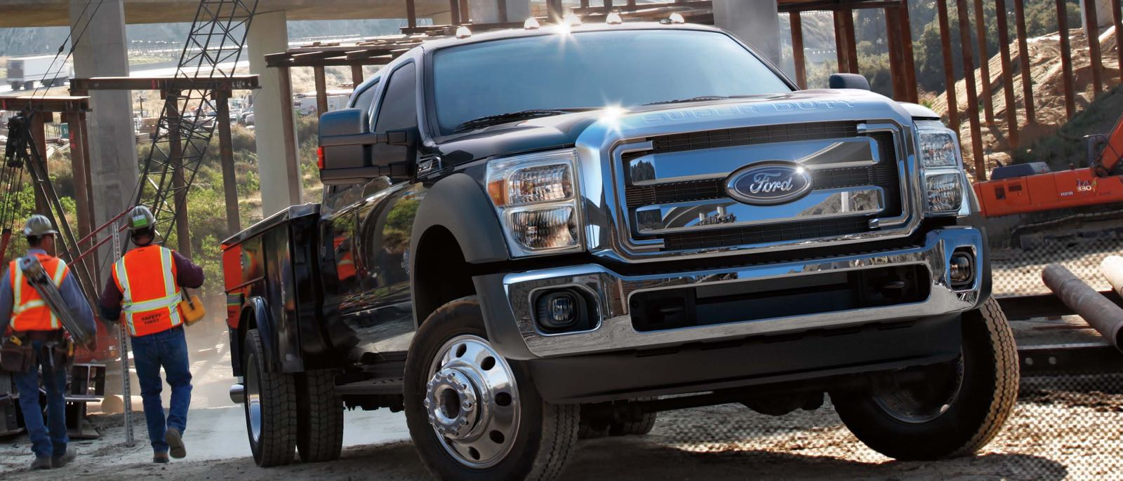 2016 Ford Super Duty exterior up close