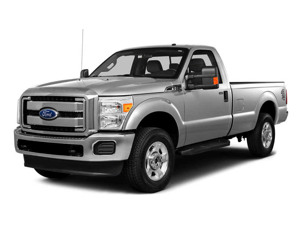 2016 Ford Super Duty grey exterior