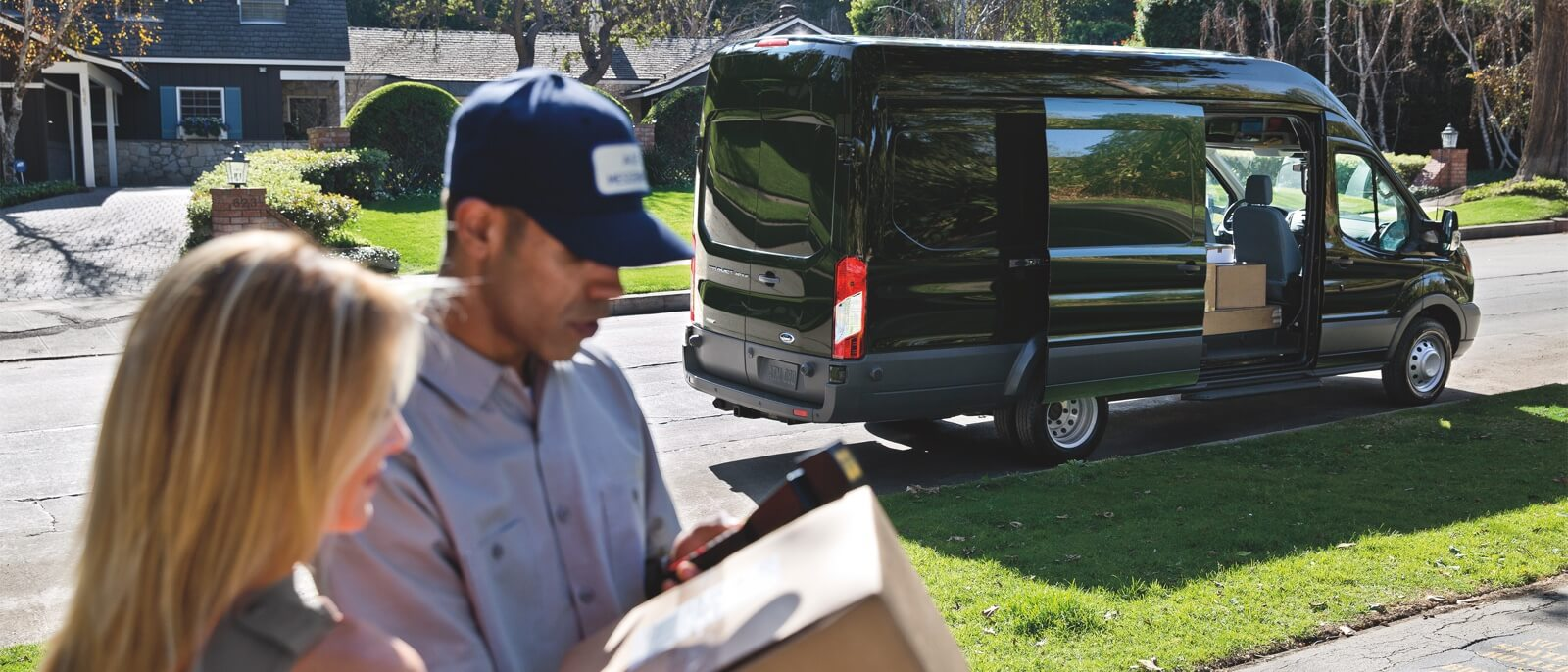 2016 Ford Transit Connect in action