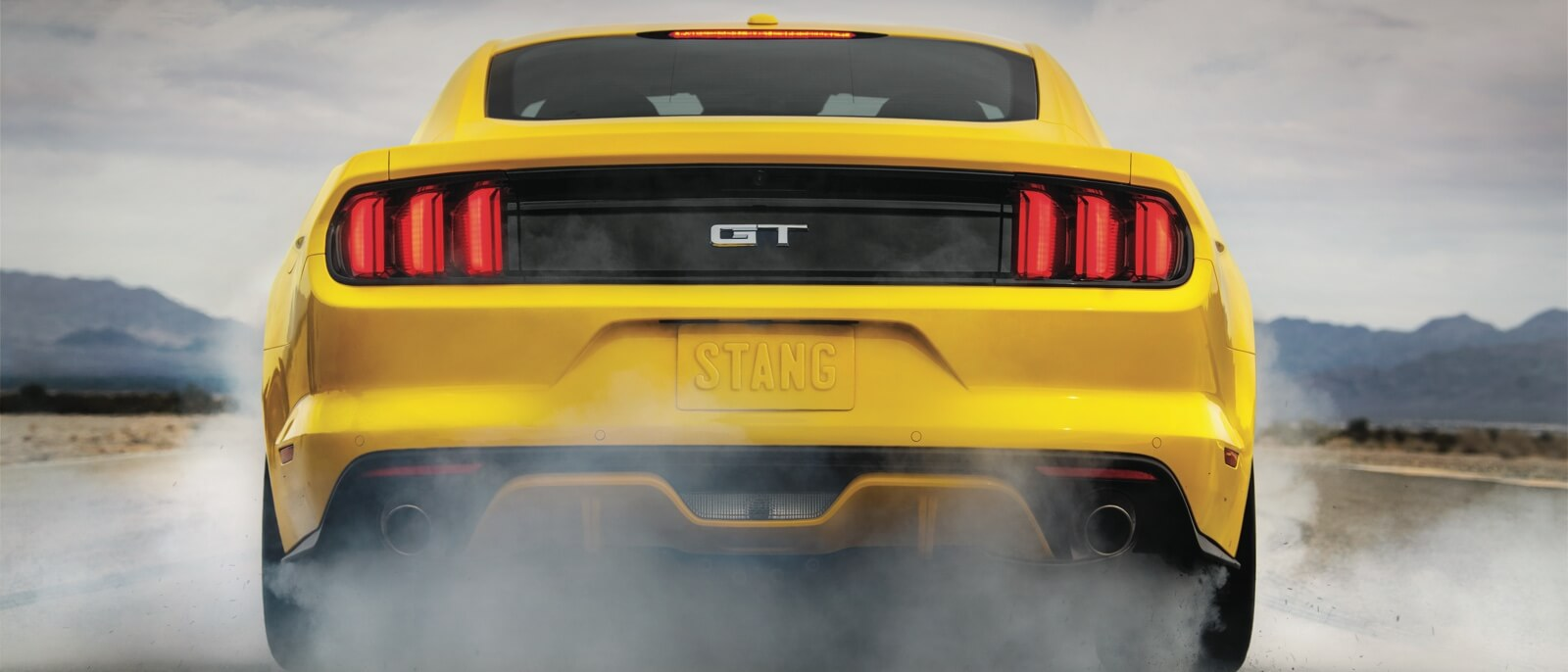 2016 Ford Mustang GT rear exterior up close