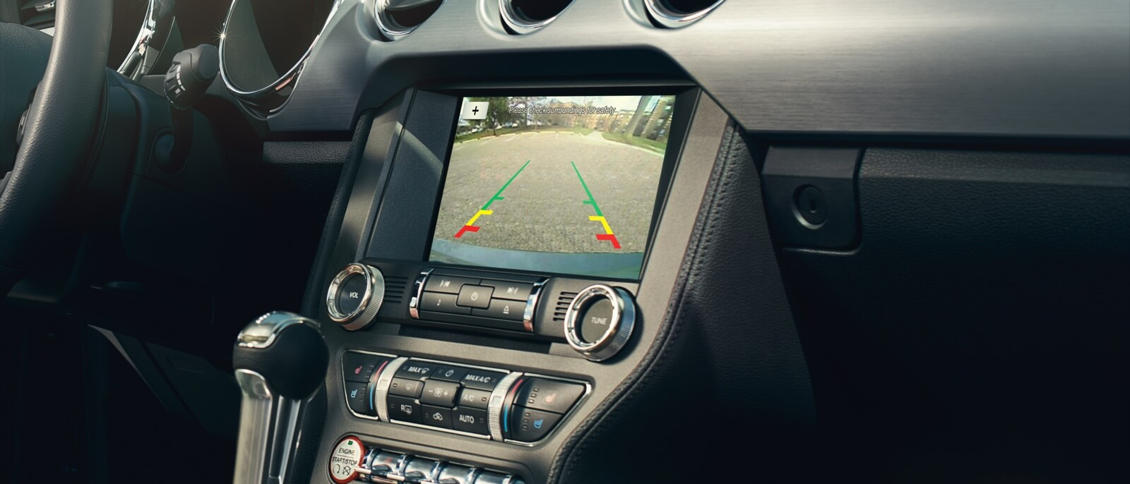 2016 Ford Mustang GT interior features
