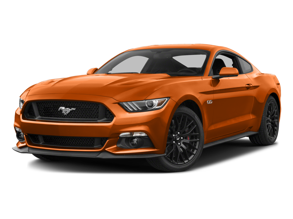 2016 Ford Mustang GT orange exterior