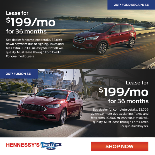 Fusion and Escape October Offer & River View Ford | New Ford and Used Car Dealer in OswegoIL markmcfarlin.com