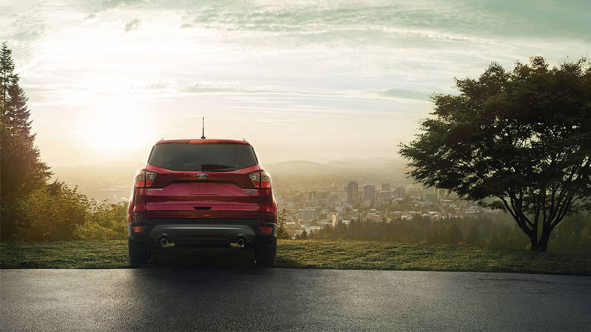 2017 Ford Escape rear exterior