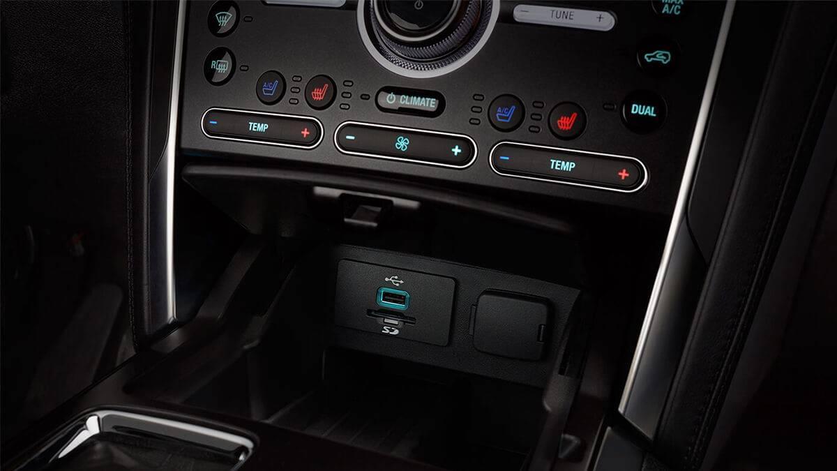 2017 Ford Explorer charging