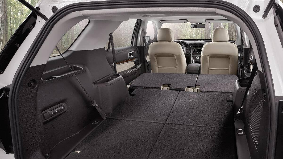 2017 Ford Explorer seat fold
