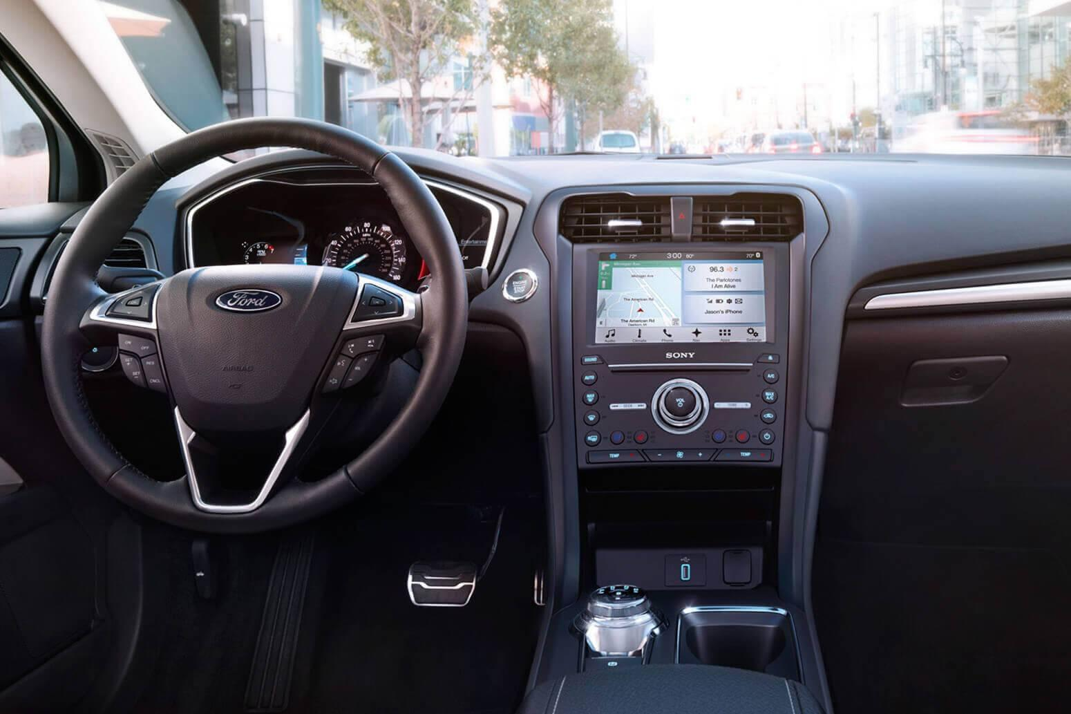 2017 Ford Fusion Interior