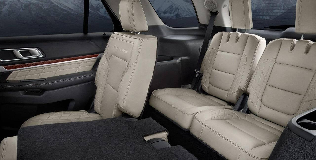 Delightful 2017 Ford Explorer Platinum Third Row Seat