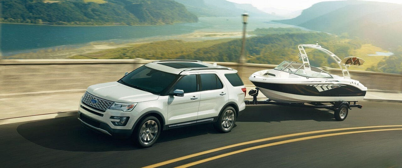 2017 Ford Explorer with Tow