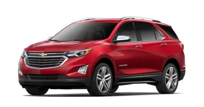 2018 Chevrolet Equinox compare