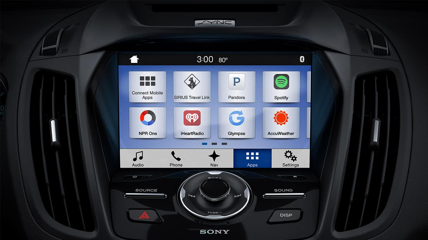 2018 Ford Escape SYNC3
