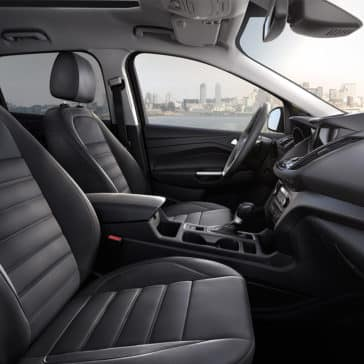 2018 Ford Escape interior cabin