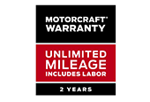 River View Ford_MOTORCRAFT® WARRANTY: TWO YEARS. UNLIMITED MILEAGE. INCLUDES LABOR.*