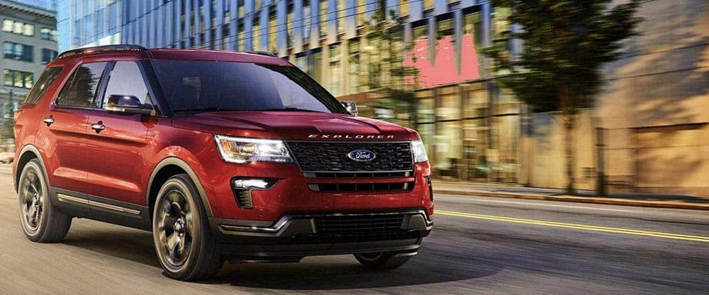 2019 Ford Explorer Driving