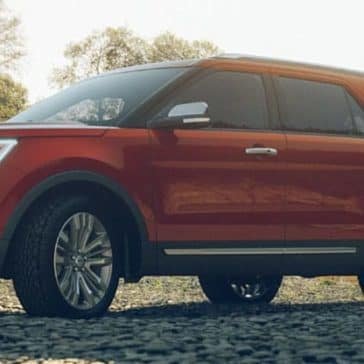 2019 Ford Explorer Parked