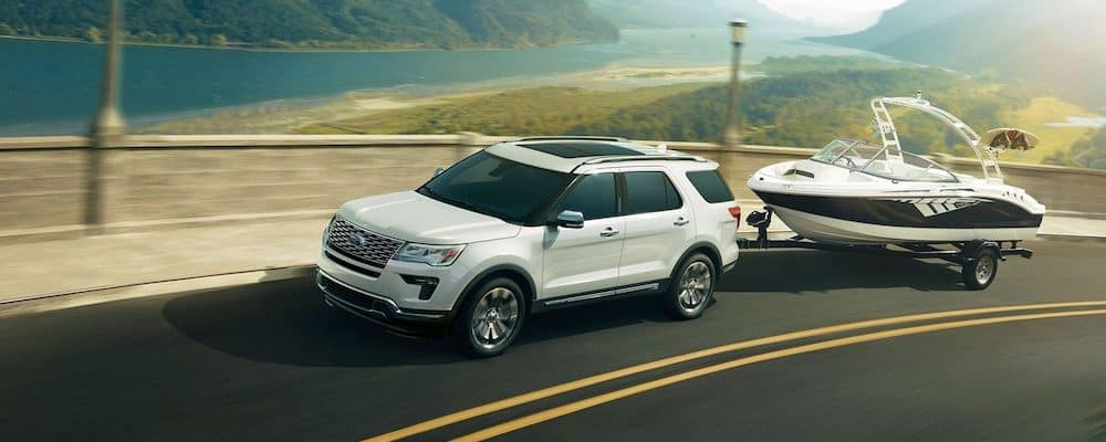 2019 Explorer Platinum With Standard Class III Trailer Tow Package