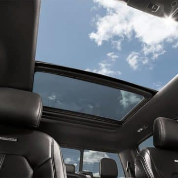 2019 Ford F-150 Interior Moonroof