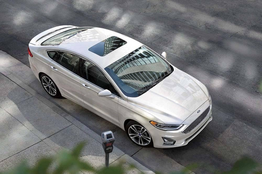 2019 Ford Fusion Top View