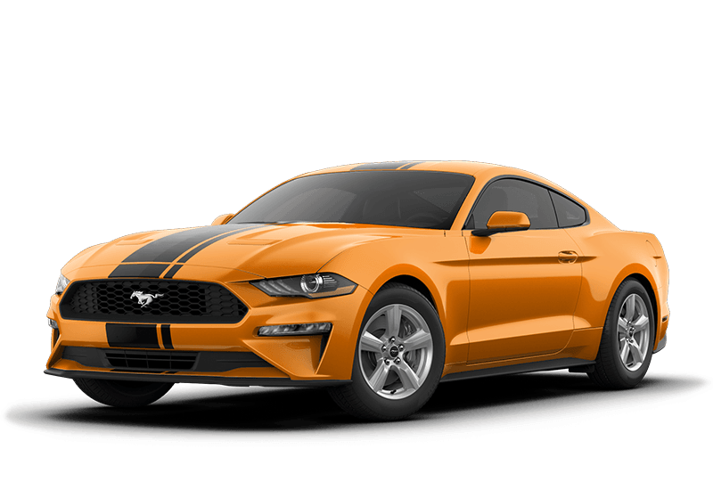 2019 Ford Mustang Hero options shown