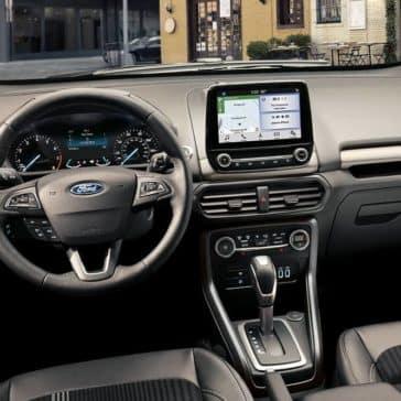2019 Ford EcoSport Dash