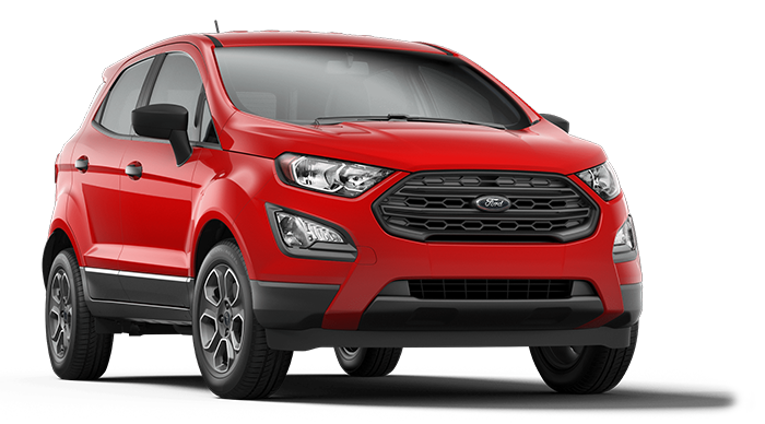 2019 Ford EcoSport Red