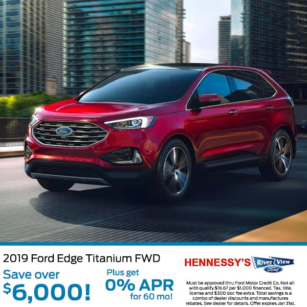 New 2019 Ford Edge SEL FWD 4D Sport Utility
