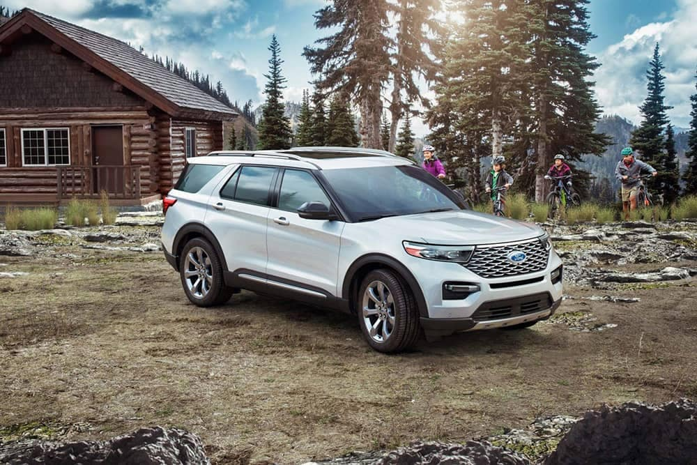 2020 Ford Explorer At Cabin