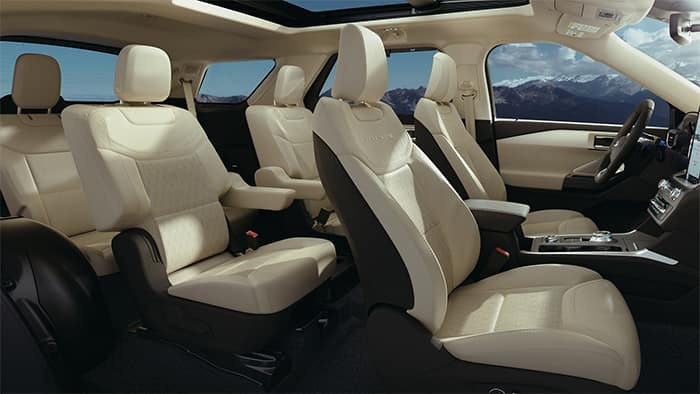 Ford Explorer Seating Configuration
