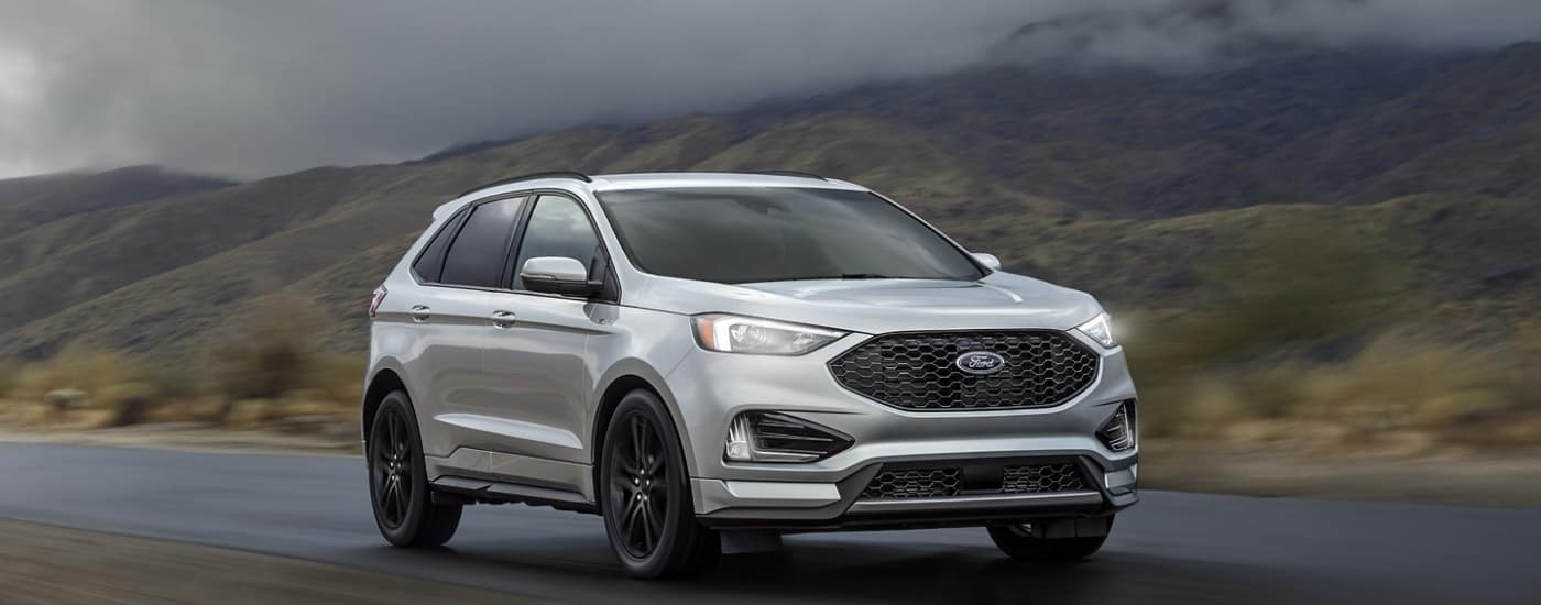 2020 Silver Ford Edge
