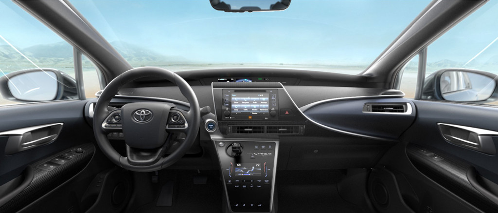 Awesome 2017 Toyota Mirai Interior At Toyota Santa Monica