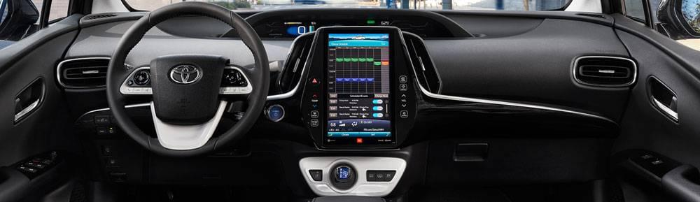 The 2017 Toyota Prius Prime Offers A Deluxe Interior