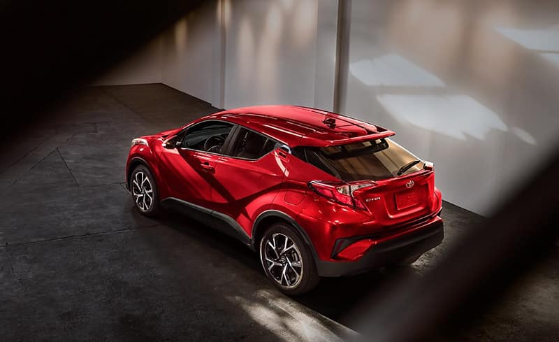 2018 Toyota C-HR XLE Ruby Flare Pearl Exterior