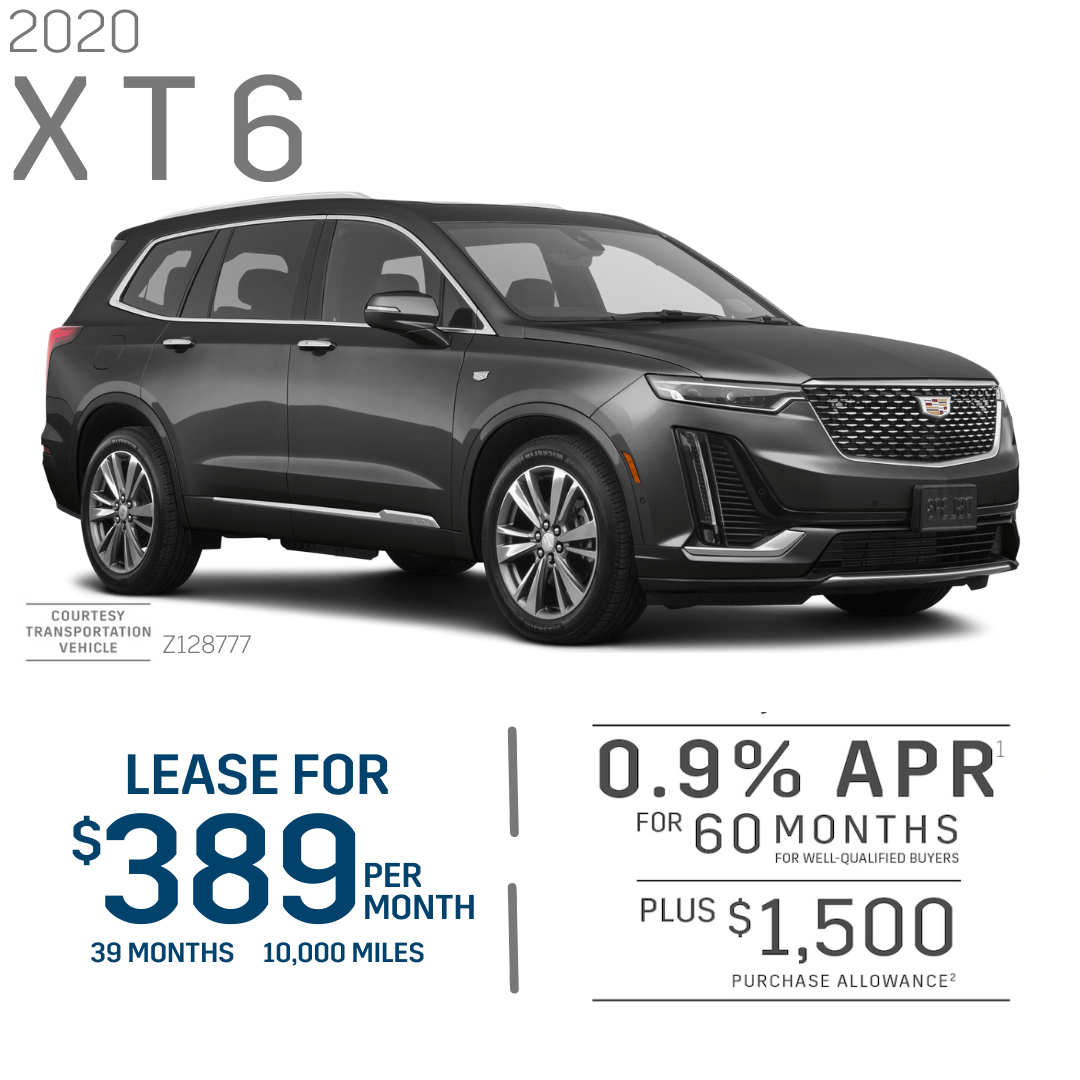 Cadillac XT6 Lease and Finance Offer