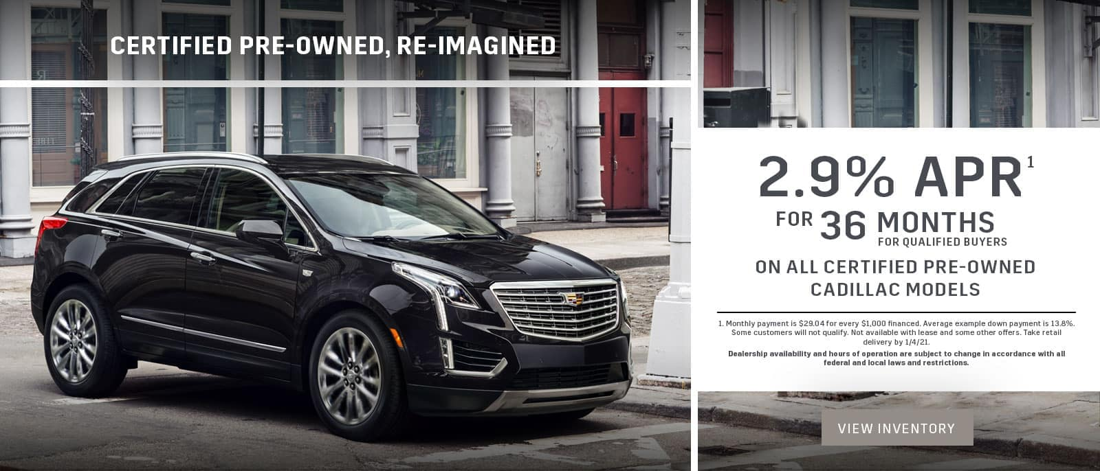 Cadillac CPO Financing Offer
