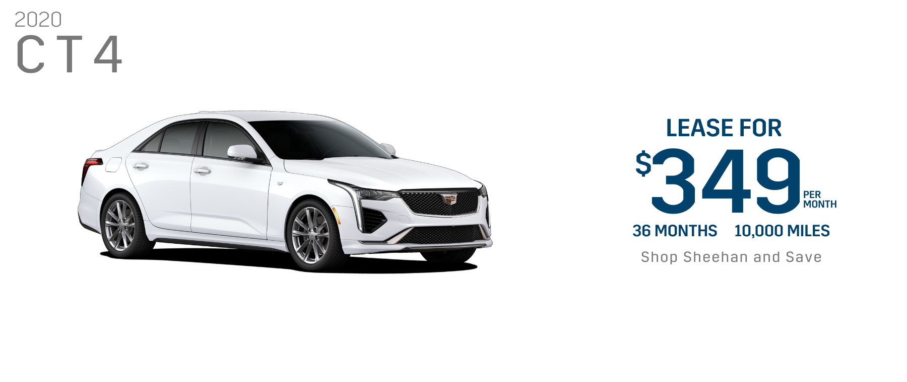 Cadillac CT4 Lowest Lease Offer Pompano Beach