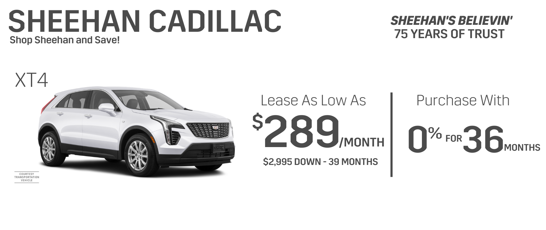white xt4 lease purchase offer sheehan cadillac