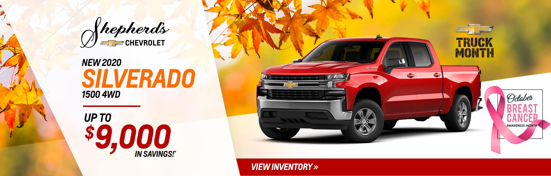 Save up to $9,000 on a new Silverado near Marion, Indiana