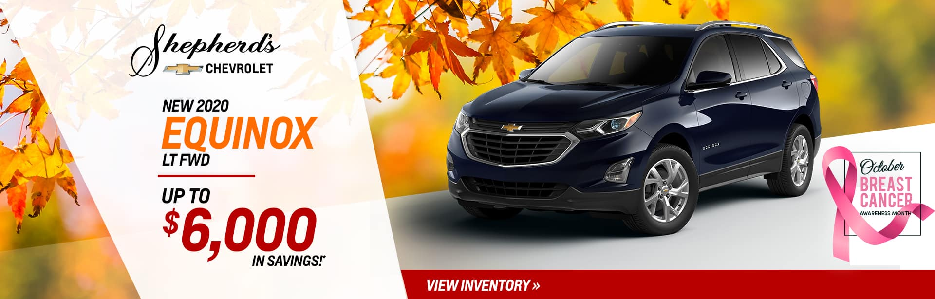 Save on a new Equinox near North Manchester, Indiana
