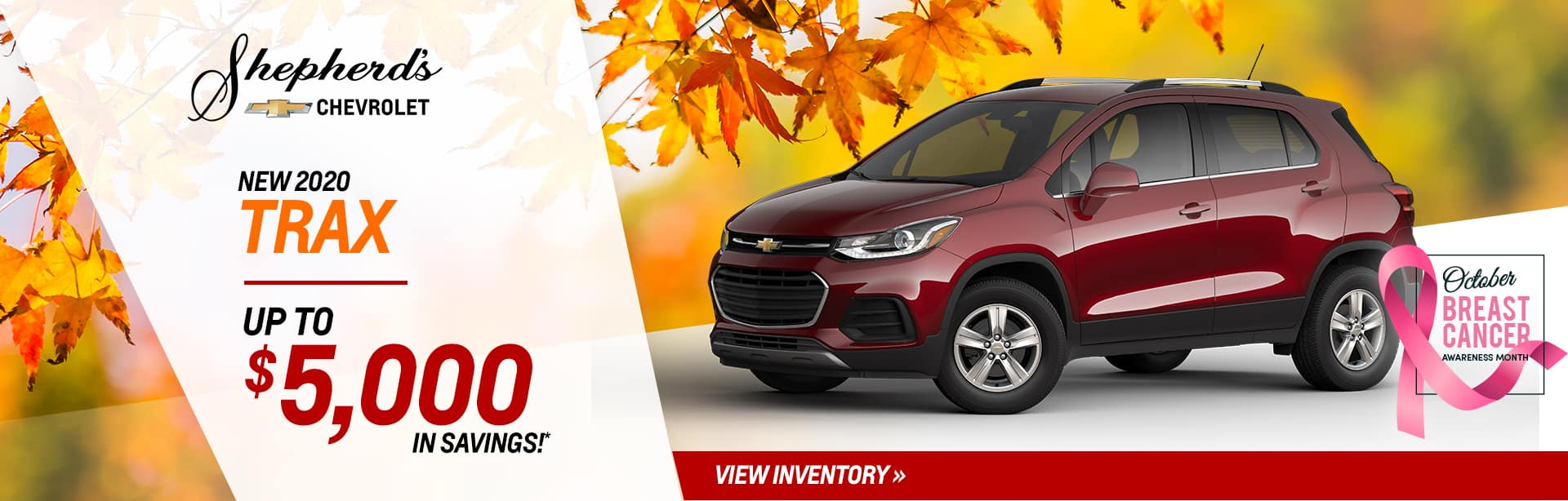 Save up to $5,000 off on a new Trax near Warsaw, Indiana