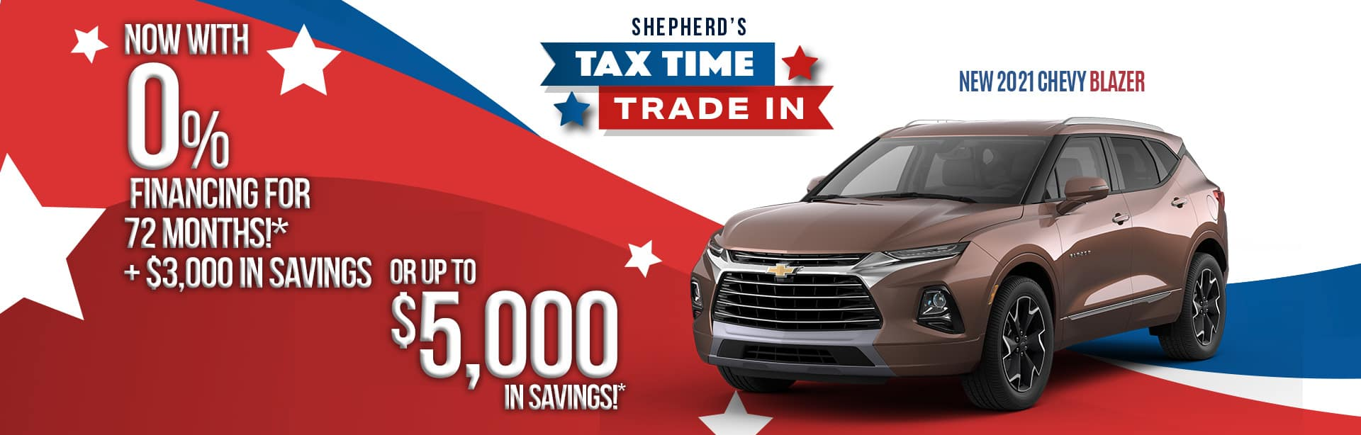 Best deal on a 2021 Chevy Blazer near North Manchester IN