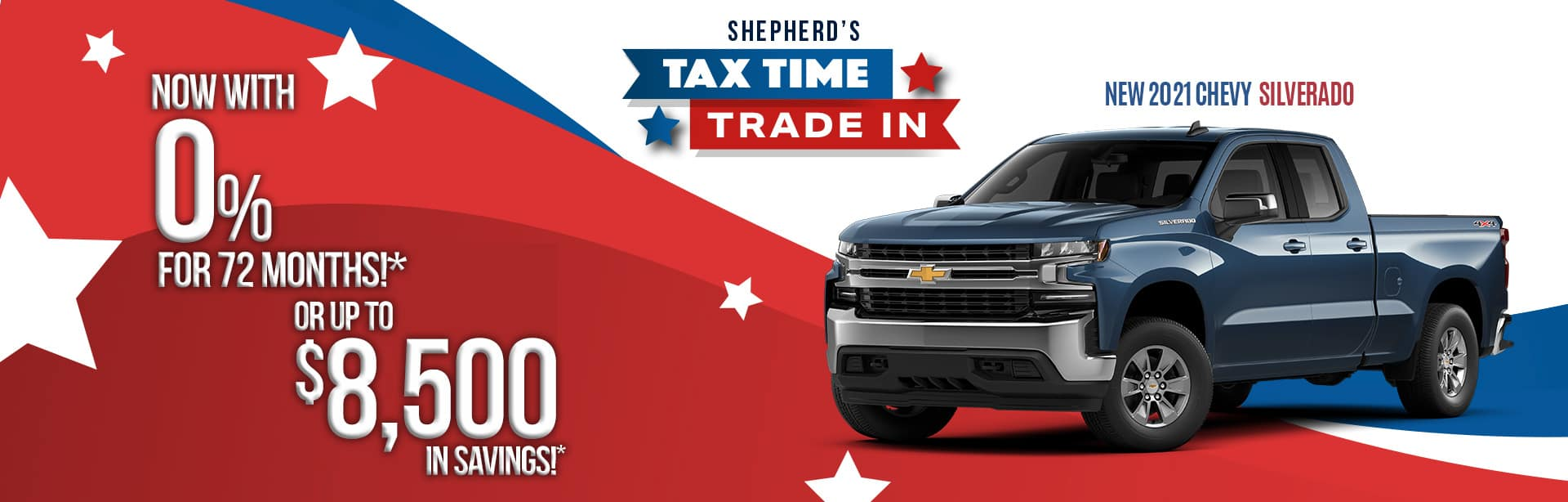 Biggest savings on a new 2021 Chevy Silverado 1500 near North Manchester IN