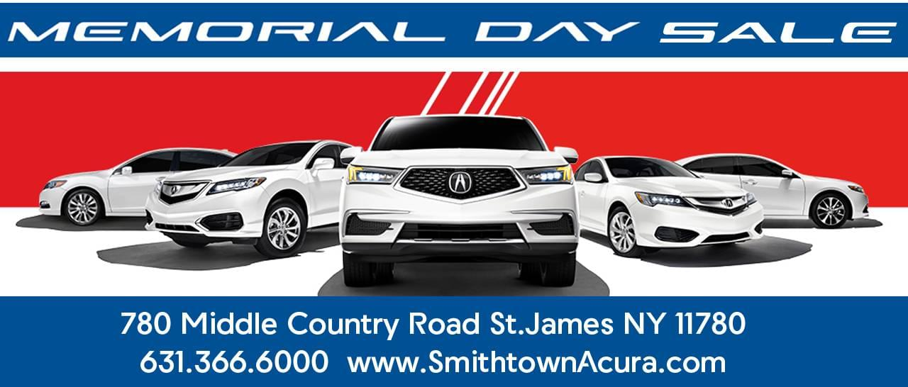 Memorial Day Sale Smithtown Acura