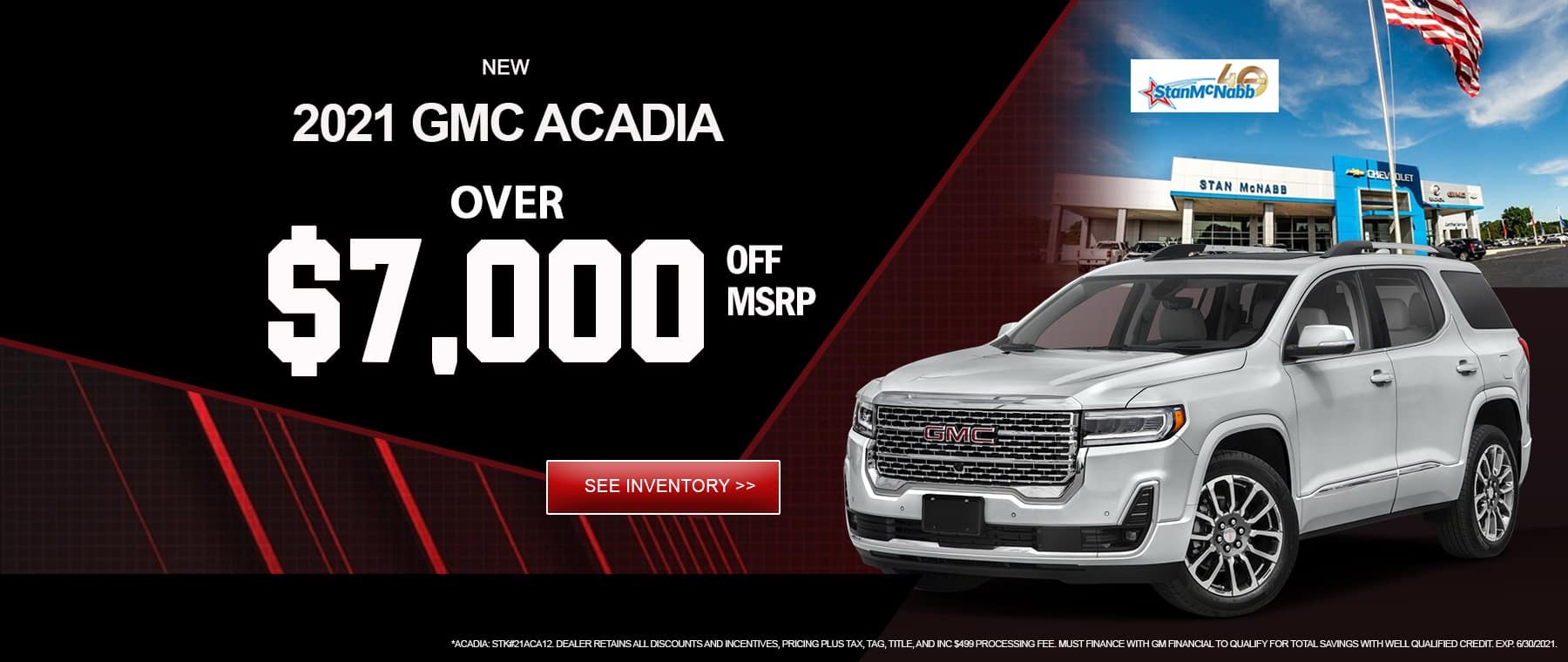 Acadia for Sale