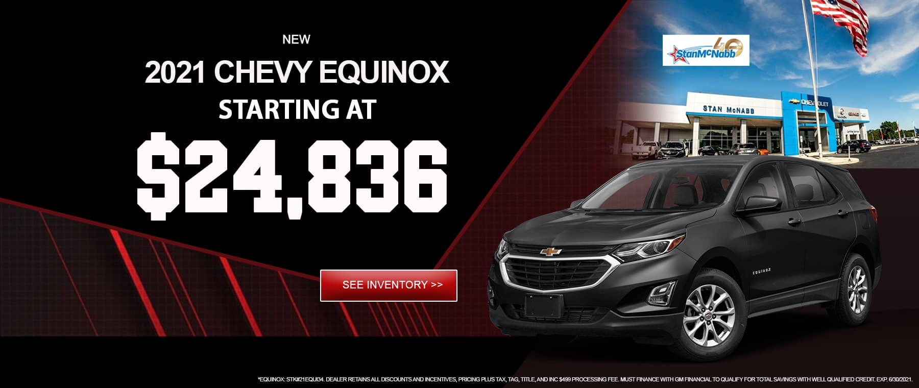EQUINOX FOR SALE