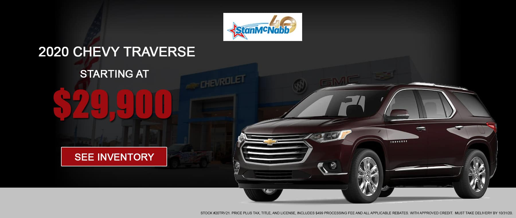 Traverse for sale